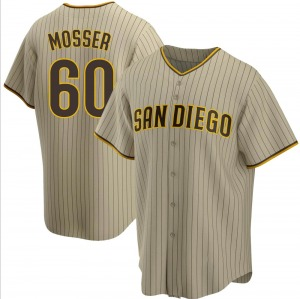 Youth San Diego Padres Gabe Mosser Brown Sand/ Alternate Jersey - Replica